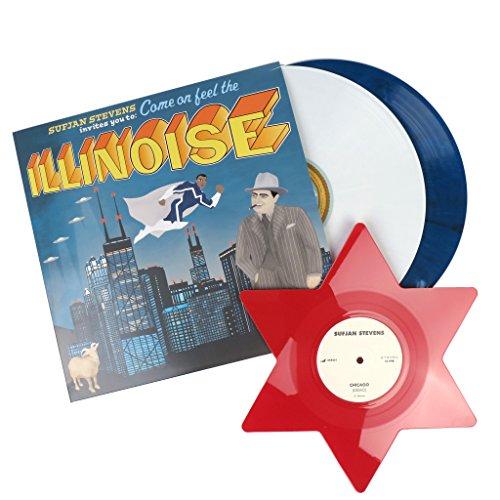 Sufjan Stevens: Illinois - Special 10th Anniversary Blue Marvel Edition (Colored Vinyl) Vinyl 2LP (Marvels 10th Anniversary Edition compare prices)