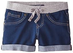 Vigoss Big Girls\' Most Comfy Shorts, Ink Well Blue, 14