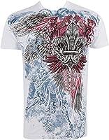 Sakkas Angel Five T-Shirt Mode Hommes Métallique en Relief