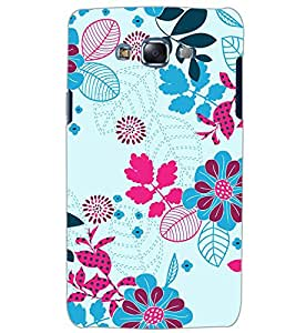 PrintDhaba LEAF PATTERN D-6834 Back Case Cover for SAMSUNG GALAXY J5 (Multi-Coloured)