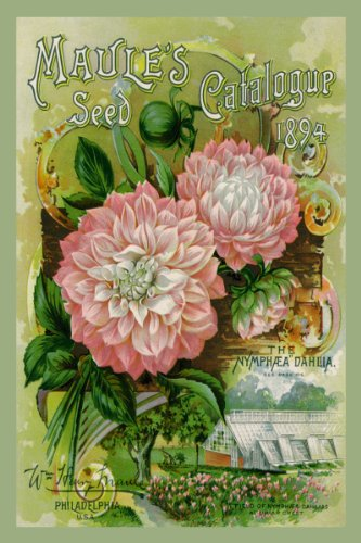 Canvas Print, Maule's Seed Catalogue, 1894 - 12x18