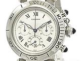 [カルティエ]Cartier【CARTIER】カルティエ パシャ 38 クロノグラフ ステンレススチール クォーツ メンズ 時計W31018H8(BF087897)[中古]