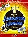Premi�re Annee de Formation Musicale...