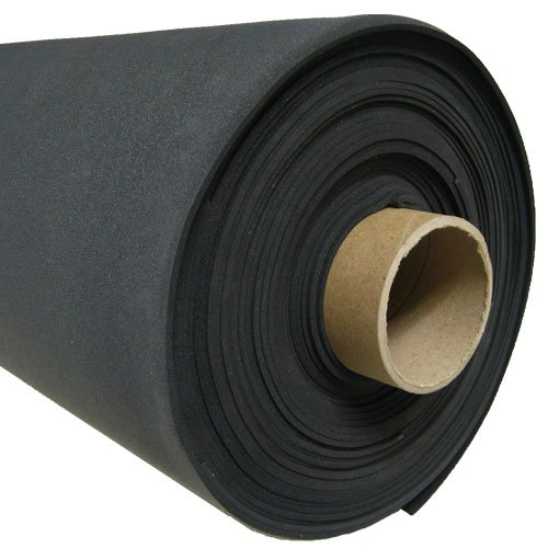 SPONGE NEOPRENE ROLL PLAIN 1/4 IN. X 54 IN. X 25 FT.