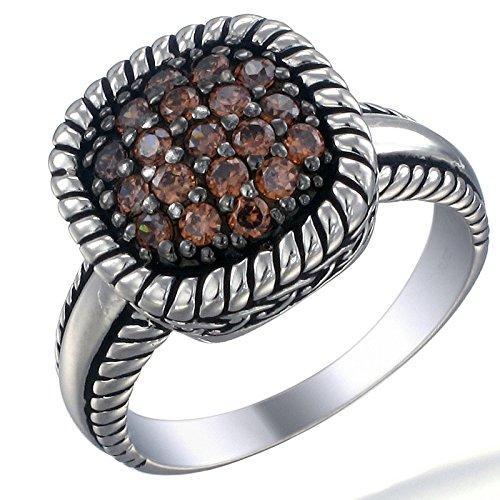 Vir Jewels, Bague Femme Argent fin 925/1000 Oxyde de Zirconium , T 54