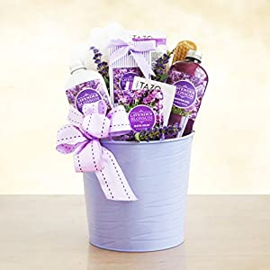 Amazon.com : Traquil Lavender Spa Gift Basket for Women