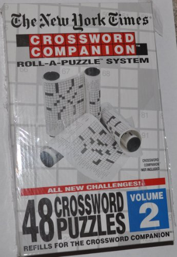 Cheap Hebbko The New York Times: Crossword Companion Roll-A-Puzzle Refills Volume 2 (B004QXGI8A)