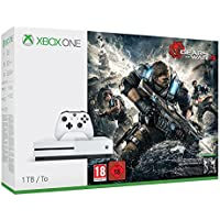 Microsoft Xbox One S with Gears of War 4 1TB Console Bundle