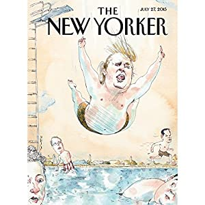 The New Yorker, July 27th 2015 (Robin Wright, Jeffrey Toobin, Adam Gopnik) Periodical