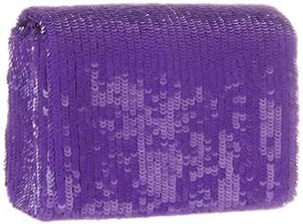 SANTI 4075X-SQ Clutch,Purple,One Size