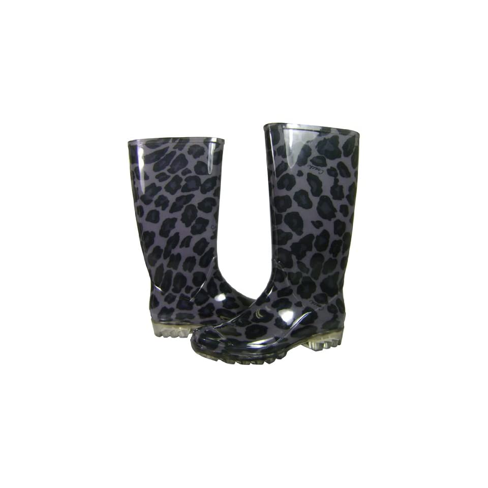COACH Pixy Womens Rubber Wellies Galoshes Rain Boots Shoes