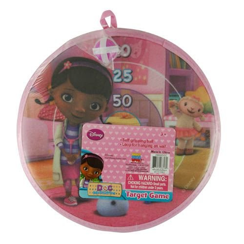 Disney Doc Mcstuffins Velcro Dart Board Game With Ball