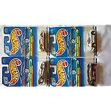Hot Wheels 1998 Dash 4 Cash Series Complete Set Of 4
