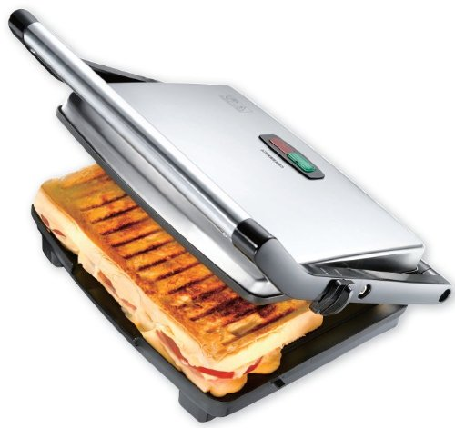 3 in 1 - Kontaktgrill & Toaster & Panini Maker 2000 Watt Antihaftbeschichtet!