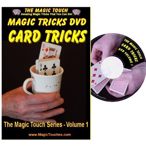 MAGIC CARD TRICKS - Amazing Card Tricks DVD Volume 1 - With Full Demonstration and Explanation of Basic Skills to Enable You to Perform Many Stunning Magical Effects with Sleight of Hand Tricks, Self Working Tricks and Mind Reading Card Tricks