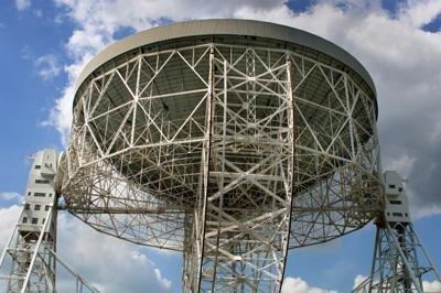 Transmitter Wall Decals The Lovell Telescope At Jodrell Bank Observatory In Cheshire - 24 Inches X 16 Inches - Peel And Stick Removable Graphic
