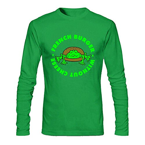 Men's 3 Col French Frogburger Long Sleeve T-Shirt