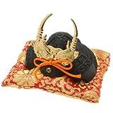 Kotobuki Iron Samurai Helmet Figurine, Takeda Shingen