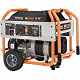 Generac 5747 XG8000E 10,000 Watt 410cc OHV Gas Powered Portable Generator With Wheel Kit And Electric Start