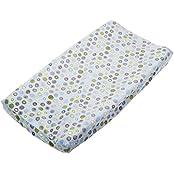 Summer Infant Ultra Plush Change Pad Cover, Blue Swirl