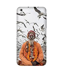 Aghori Baba Back Cover Case for HTC Desire 816