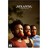 "Atlanta Brian Tyree Henry as Alfred ""Paper Boi"" Miles, Donald Glover as Earnest ""Earn"" Marks and Lakeith Stansfield as Darius Atlanta peaches shot with FX logo 8 x 10 Inch Photo"