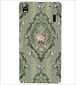 PrintDhaba Pattern D-2260 Back Case Cover for LENOVO A7000 (Multi-Coloured)