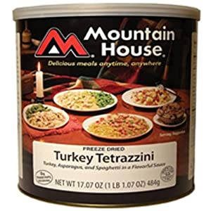 Mountain House Turkey Tetrazini #10 Can Freeze Dried Food - 6 Cans Per Case by Mountain House