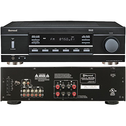 Sherwood RX-4109 200W Stereo Receiver - Black