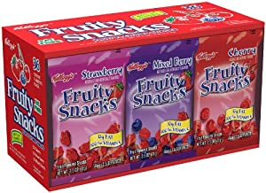 Kellogg's Fruity Snacks 36 Pouch Variety Pack Net Wt. 5lb 10oz
