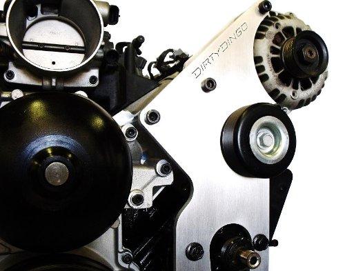 Dirty Dingo Billet Alternator & Power Steering Bracket for 99-Up GM Vortec V8 (Dirty Dingo Power Steering compare prices)