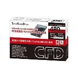 CFD販売 SSD 480GB 2.5inch TOSHIBA製 内蔵型 2.5→3.5inch変換マウンタ付 SATA6Gbps CSSD-S6T480NMG1Q ランキングお取り寄せ