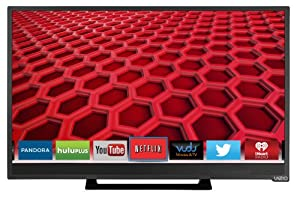 VIZIO E241i-B1 24-Inch 1080p 60Hz Smart LED HDTV (Black) by VIZIO
