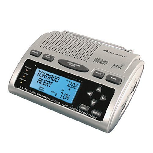 Compact Emergency Weather Radio