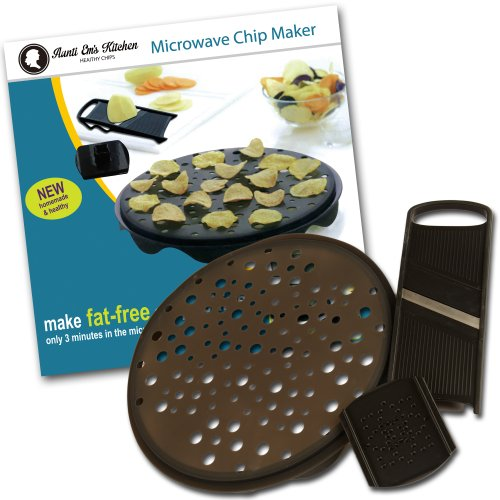 Chips Maker by Aunti Em's Kitchen: Microwave Potato and Veggie Chip Maker