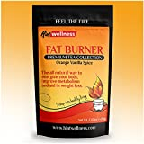 Fat Burner Tea - Weight Loss Tea and Energy Blend - For Appetie Surpressant + Boost Metabolism - By Hint Wellness - 18 Tea Bags - 72g
