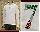 ヴィオラルモーレ VIOLA RUMORE イタリアントリコロール モチーフ ZIP ポロシャツ メンズ A41119-3
