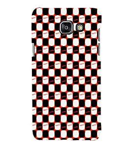 EPICCASE stumbed patterns Mobile Back Case Cover For Samsung Galaxy A3 (Designer Case)