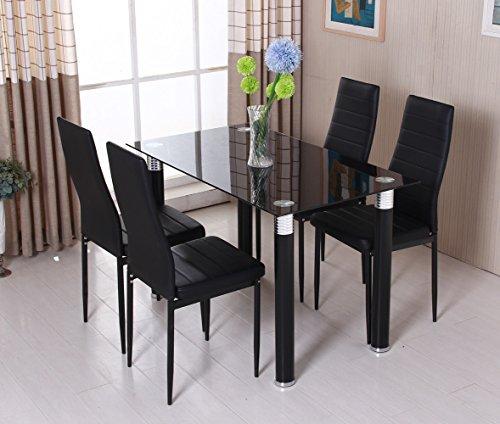 ospi-black-tempered-glass-dinner-table-leather-cover-chairs-sets-1-table-with-4-chairs-1-table-with-