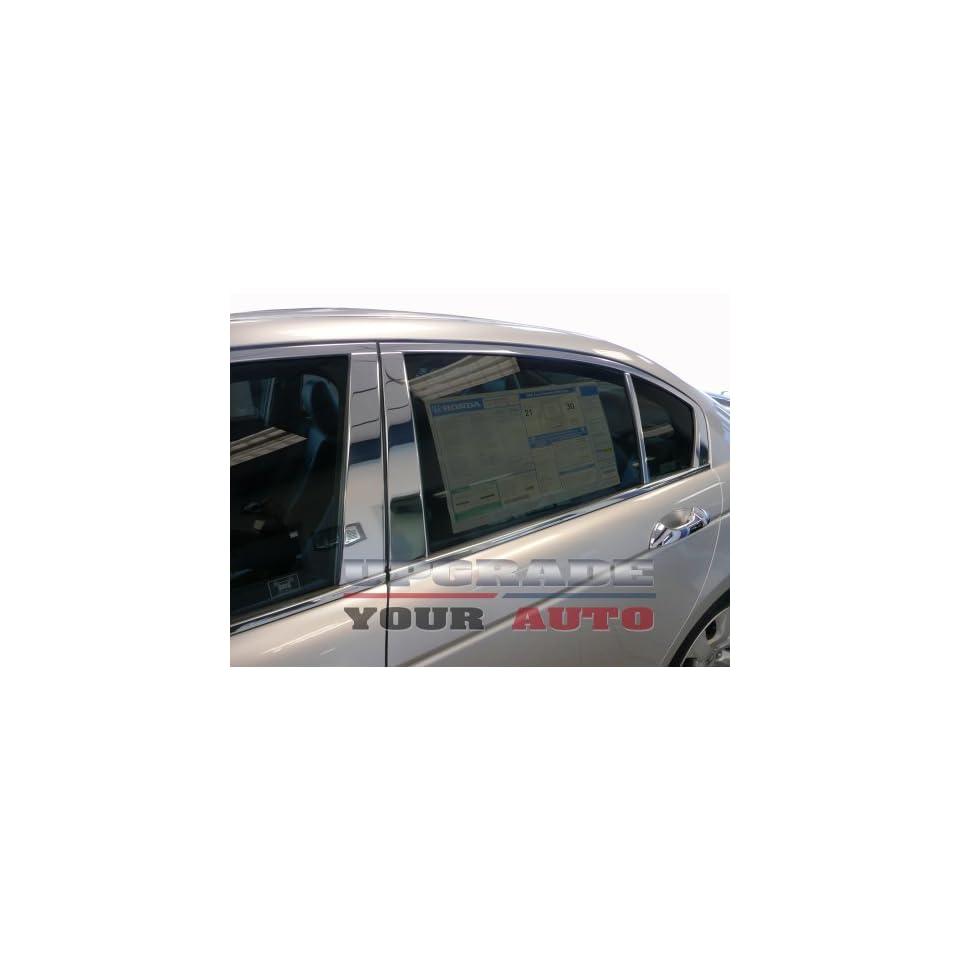 2008 2012 Honda Accord Chrome Pillar Post 4 Door 6 Pc Set