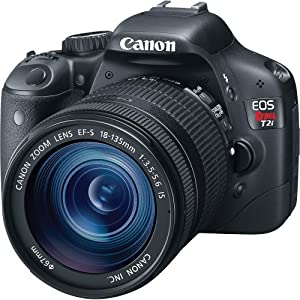Canon EOS Rebel T2i 18 MP CMOS APS-C Sensor DIGIC 4 Image Processor Full-HD Movie Mode Digital SLR Camera and EF-S 18-135mm f/3.5-5.6 IS UD Standard Zoom Lens