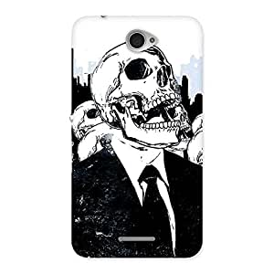 Skull Laugh Back Case Cover for Sony Xperia E4
