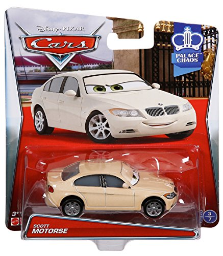 Disney/Pixar Cars, Palace Chaos 2015 Series, Scott Motorse Die-Cast Vehicle #3/7, 1:55 Scale