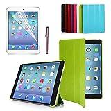 CoastCloud Ultra Thin APPLE iPad Air Flip Case Smart Cover with Stand / Auto Sleep Wake-up for iPad Air / New Retina iPad 5 Gen Green