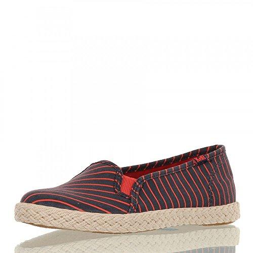 Keds, Sneaker donna, Blu (blu/rosso), 36