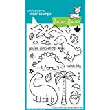 Lawn Fawn Clear Stamps - Critters From The Past #LF602