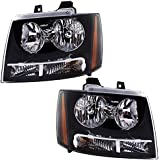 Driver and Passenger Headlights Headlamps Replacement for Chevrolet SUV Pickup Truck 20760578 20760579
