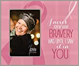 P Graham Dunn Bravery Frame Photo Frame (Breast Cancer Awareness) FRP43 9.5 x 8