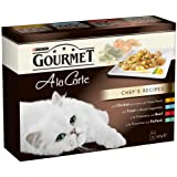 Gourmet A la Carte Chef's Recipes 8 x 85 g (Pack of 5, Total 40 Pouches)