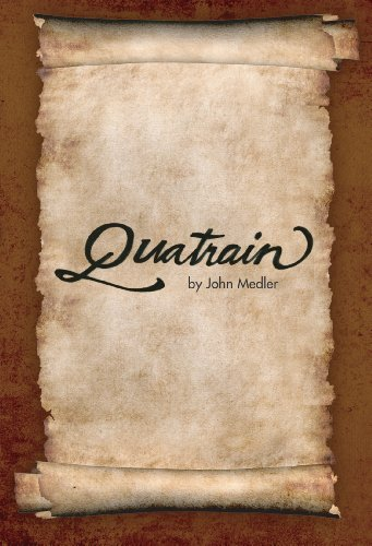 Can a cynical college professor and his two rebellious teenagers find the missing quatrains in time to stop a terrorist attack on the US? Quatrain by John Medler – Just $0.99!